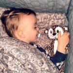 Valder sover med Leo