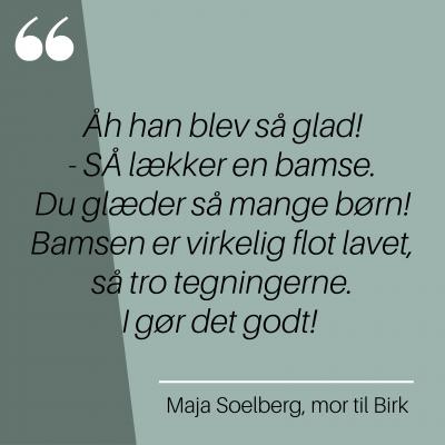 Maja Soelberg, mor til Birk