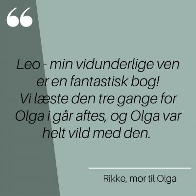 Rikke, mor til Olga